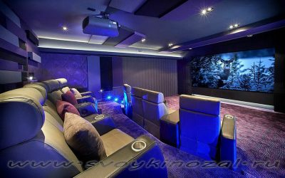 Из чего состоит домашний кинотеатр?