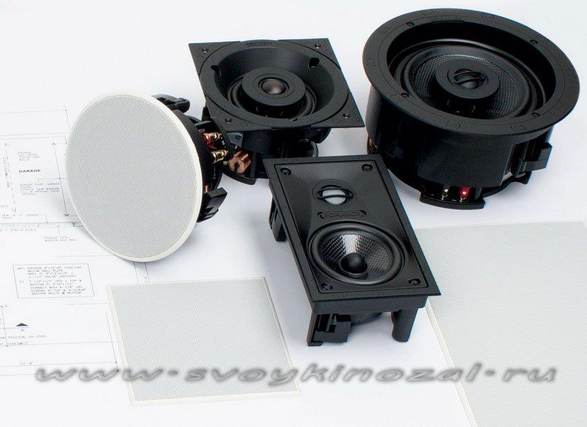 Встраиваемая акустика для кинозала