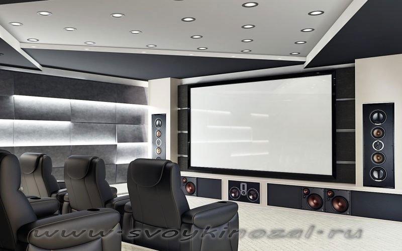 Свой Кинозал - стационарные проекционные экраны